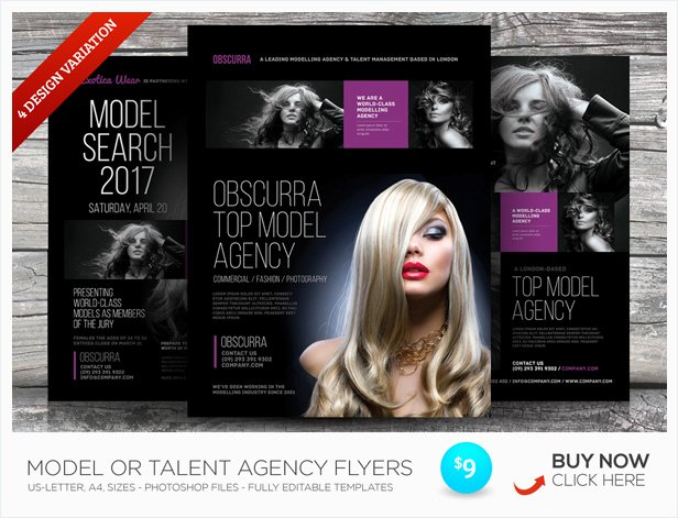 Casting Call Flyer Template New Casting Call Flyer Templates by Kinzi21