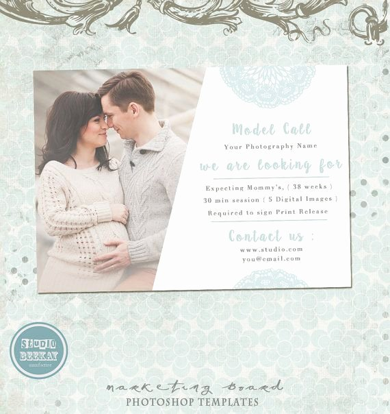 Casting Call Flyer Template New Model Call Template Photography Casting Call Maternity