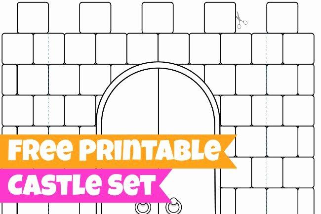 Castle Templates Printable Inspirational 16 Best S Of 3d Castle Templates Paper Cut Out 3d