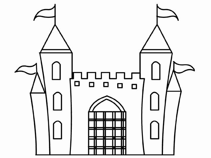 Castle Templates Printable New Cartoon Design Disney Princess Castle Coloring Pages to Kids