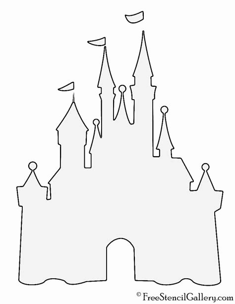 Castle Templates Printable Unique Print Out Cut Out Christmas Lights Lighting