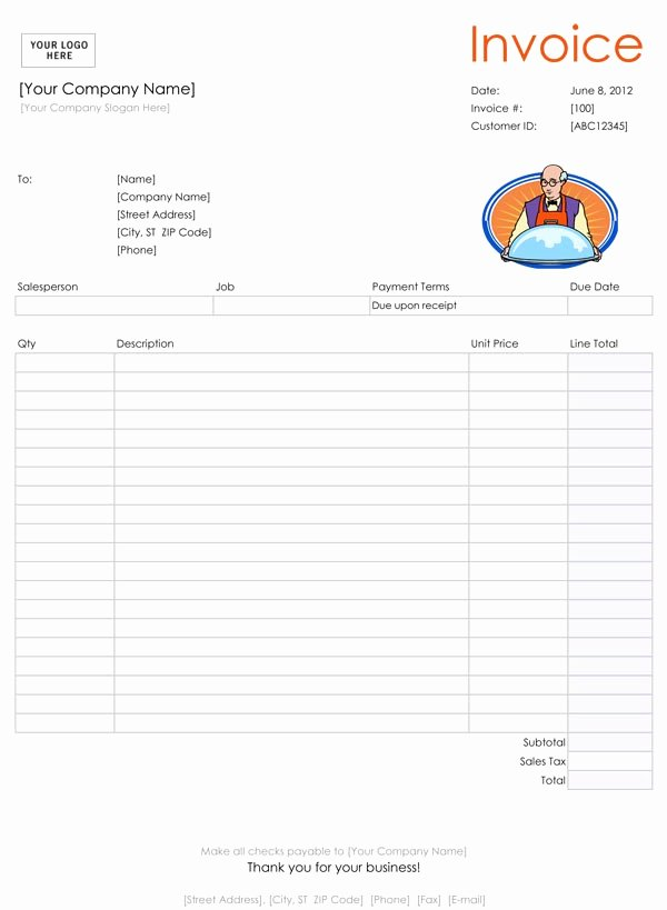 Catering forms Templates Unique 28 Catering Invoice Templates Free Download Demplates