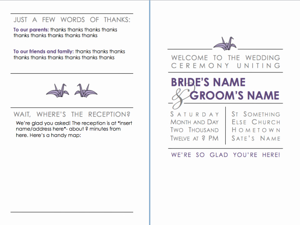 Catholic Wedding Mass Program Template Best Of Catholic Wedding Program