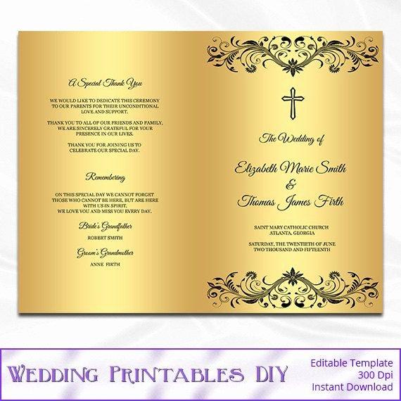 Catholic Wedding Mass Program Template Inspirational Best 25 Catholic Wedding Programs Ideas On Pinterest