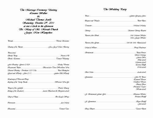 Catholic Wedding Mass Program Template Luxury 30 Of Catholic Wedding Program Template Microsoft
