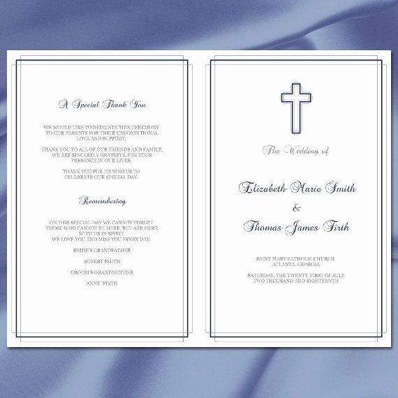 Catholic Wedding Program Template without Mass Elegant Best 20 Catholic Wedding Programs Ideas On Pinterest