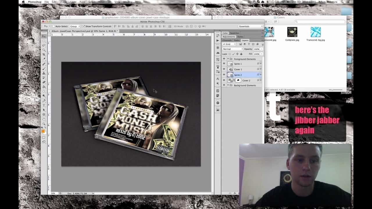 Cd Case Template Photoshop Awesome Cd Case Mockup Templates by Room122