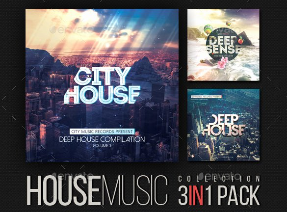 Cd Cover Template Psd Awesome 51 Album Cover Templates Psd
