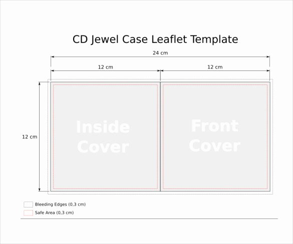 Cd Cover Template Psd Fresh Jewel Case Templates 11 Free Word Pdf Psd Eps