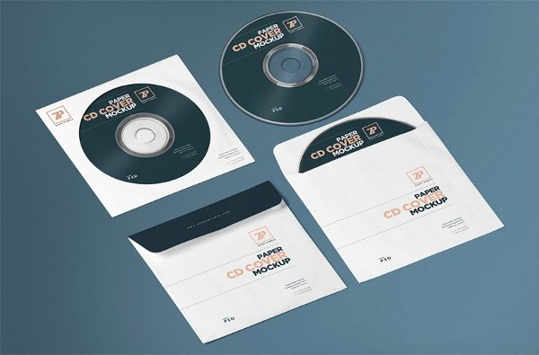 Cd Cover Template Psd New Download 25 Free Psd Cd Dvd Cover Mockups