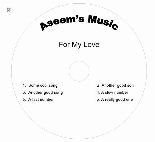 Cd Jewel Case Template Word Fresh Create Your Own Cd and Dvd Labels Using Free Ms Word Templates