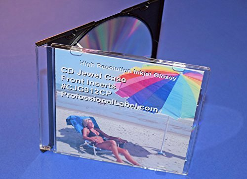 Cd Liner Notes Template Beautiful Cd Jewel Case Glossy Insert Front Cover 25 Sheets 50
