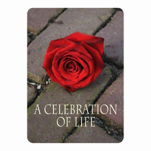 Celebration Of Life Invitation Beautiful Celebration Of Life Invitation
