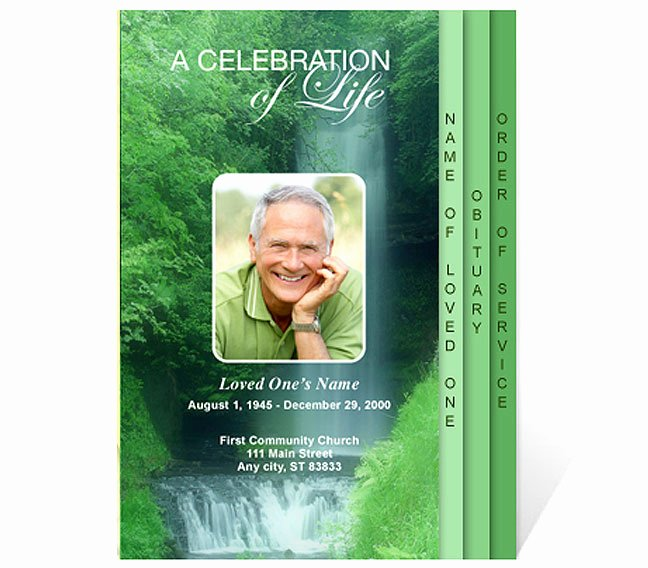 Celebration Of Life Template Free Best Of New Funeral Program Templates are now Available at the