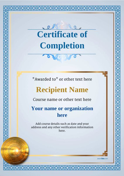 Certificate Of Quality Template Inspirational Certificate Of Pletion Free Quality Printable