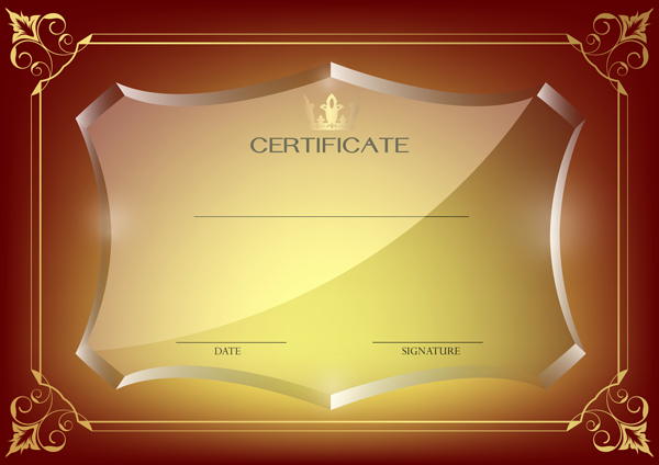 Certificate Of Quality Template Inspirational Red Certificate Template Png Image