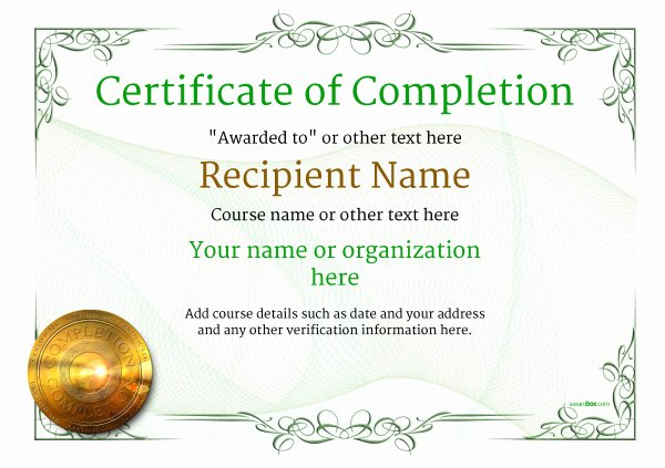 Certificate Of Quality Template Luxury Certificate Of Pletion Free Quality Printable