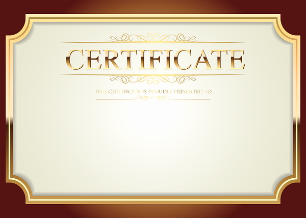 Certificate Of Quality Template Luxury Certificate Template Png Clip Art