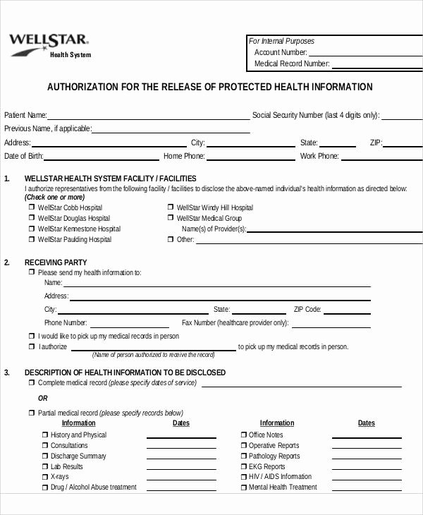 Certification Of Medical Records form Awesome 43 Printable Medical forms