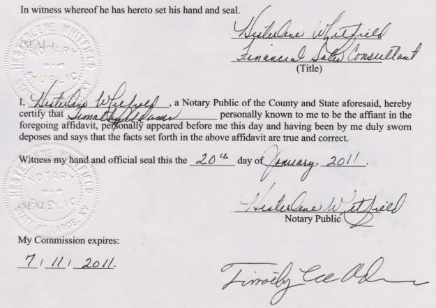 Certification Of Medical Records form Beautiful Tim Adams Affidavit No Obama Birth Certificate In Hawaii