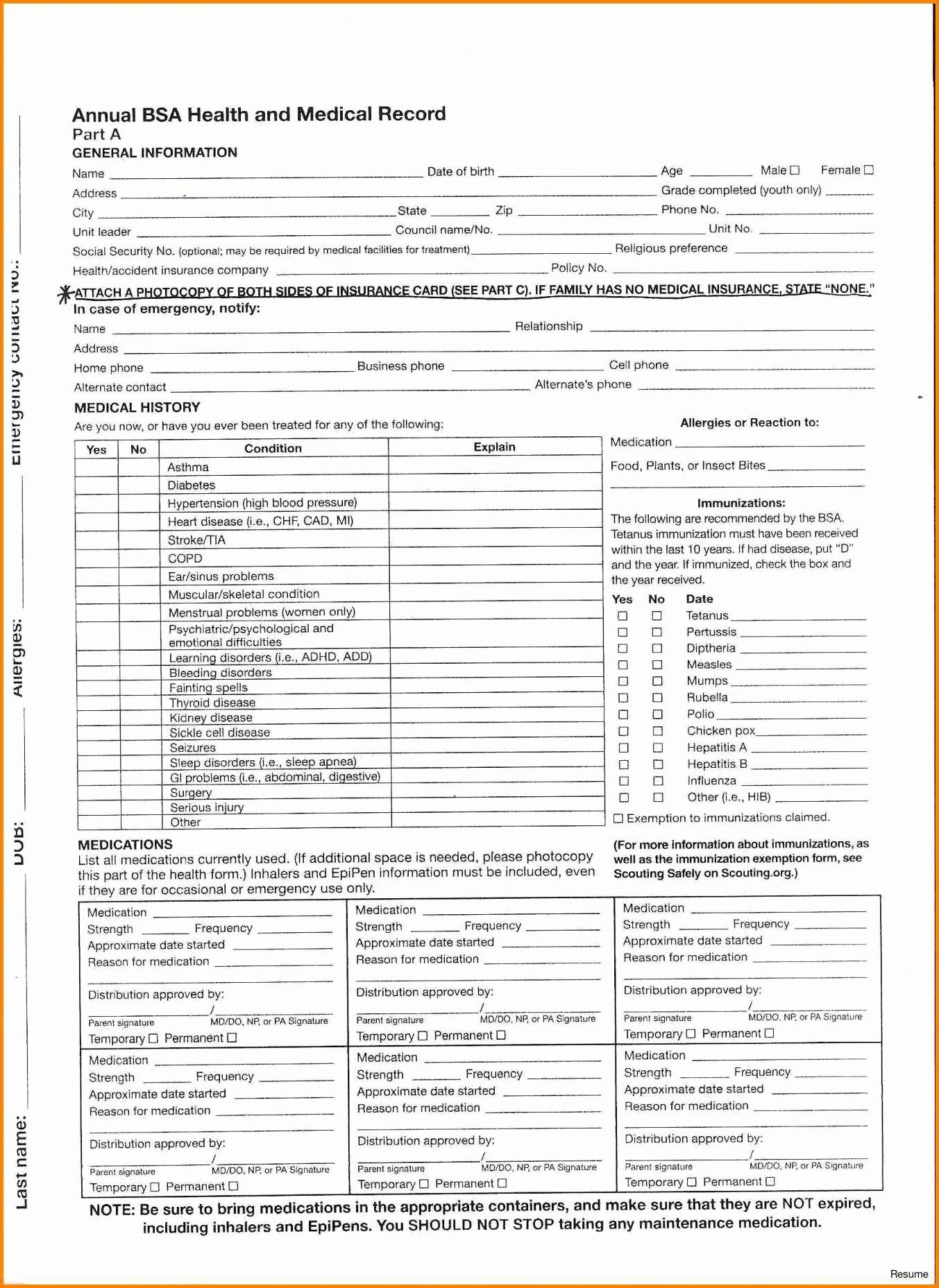 Certification Of Medical Records form Best Of 20 Medical Records form Steamtraaleren Borgenes