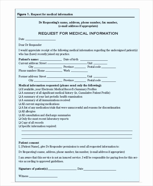 Certification Of Medical Records form Fresh Sample Transfer Request form 12 Examples In Word Pdf