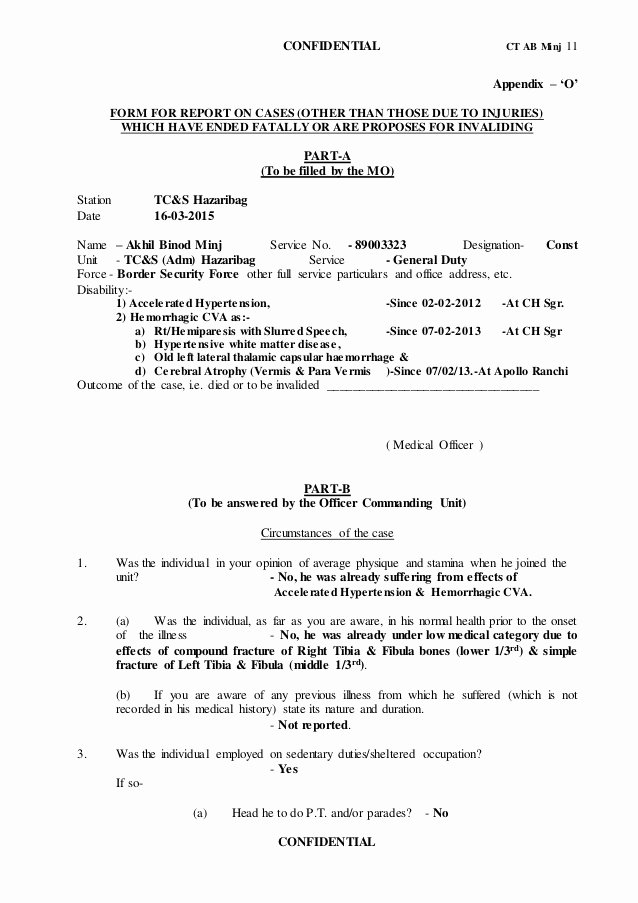Certification Of Medical Records form New Dr Narayan S ortho Neuro Hemiplegia Board Out Case