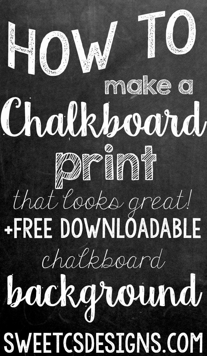 Chalkboard Poster Template Free New Make A Chalkboard Printable In Shop