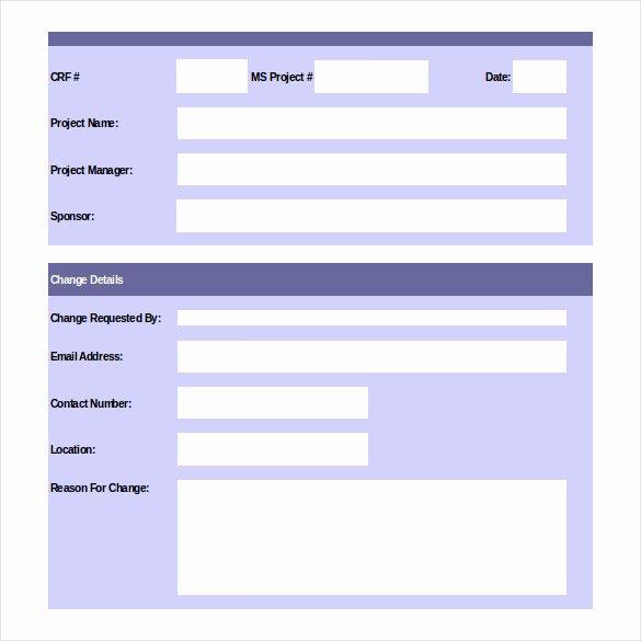 Change order Template Excel Lovely 24 Change order Templates Pdf Doc