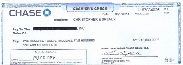 Chase Bank Check Template Unique the Above is A Photograph Of A Cashier's Check