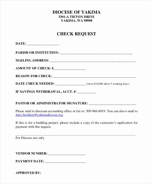 Check Request form Template Awesome Check Request form 11 Free Word Pdf Documents Download