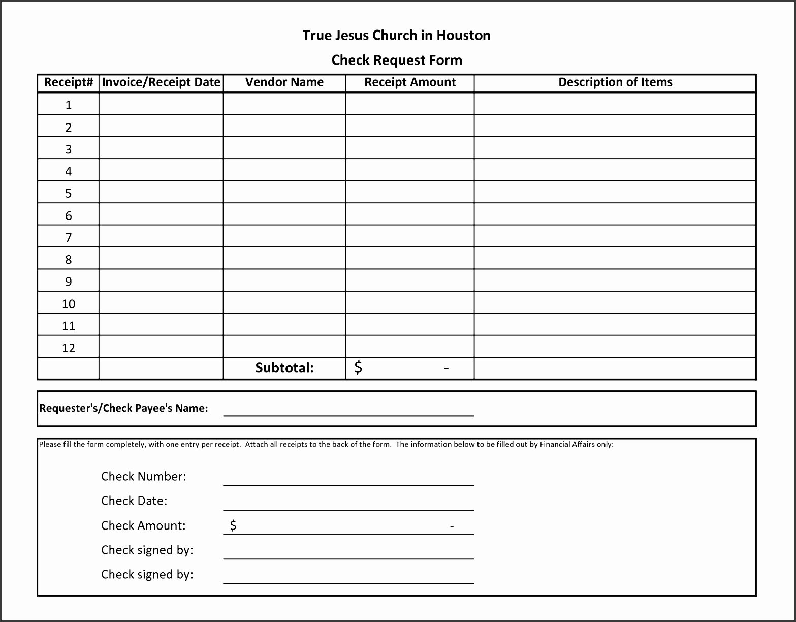 Check Request form Template Beautiful 10 Check Request form Template Free Sampletemplatess