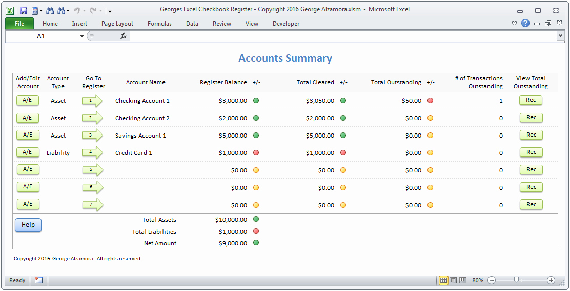 Checking Account Balance Sheet Template Unique Excel Checkbook software Spreadsheet Template