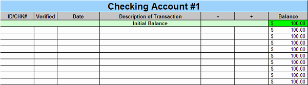 Checking Account Balance Sheet Template Unique Free Excel Personal Finance Spreadsheet Program – Trees