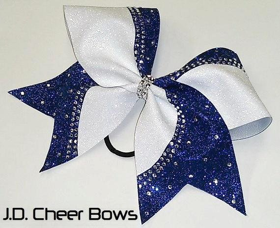 Cheer Bow Template Download New Reagan Rhinestone Glitter Cheer Bow Your Choice by Jdcheerbows