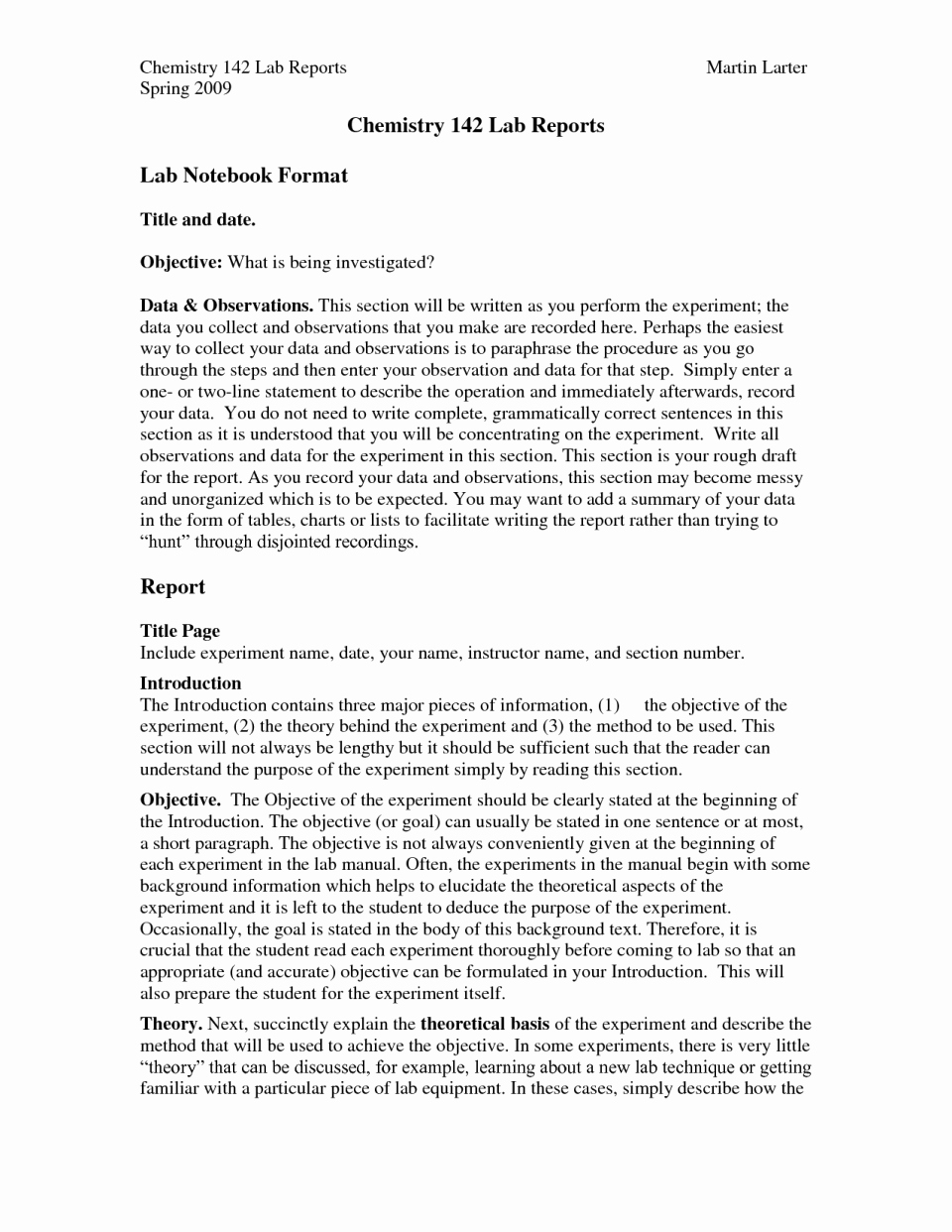 Chemistry Lab Report Template Awesome Chemistry Lab Report Example College Maggi Locustdesign Co
