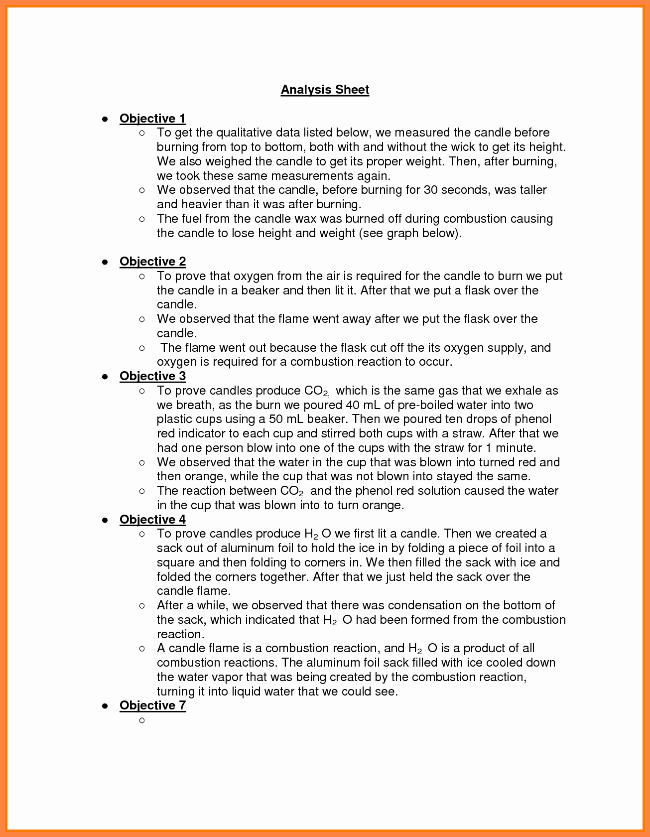 Chemistry Lab Report Template Beautiful 9 Chemistry Lab Report Example