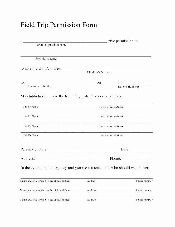 Child Care Application Template Best Of Daycare Registration form Template