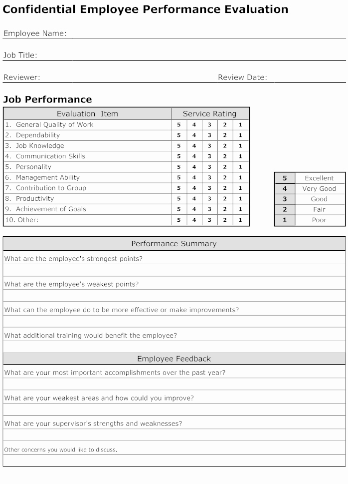 Child Care Staff Evaluation form Best Of Evaluation form How to Create Evaluation forms