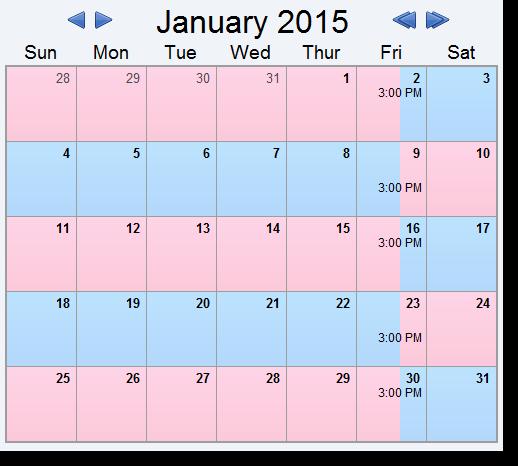 Child Custody Calendar Template Luxury Alternating Weeks 50 50 Visitation 4 Example Schedules