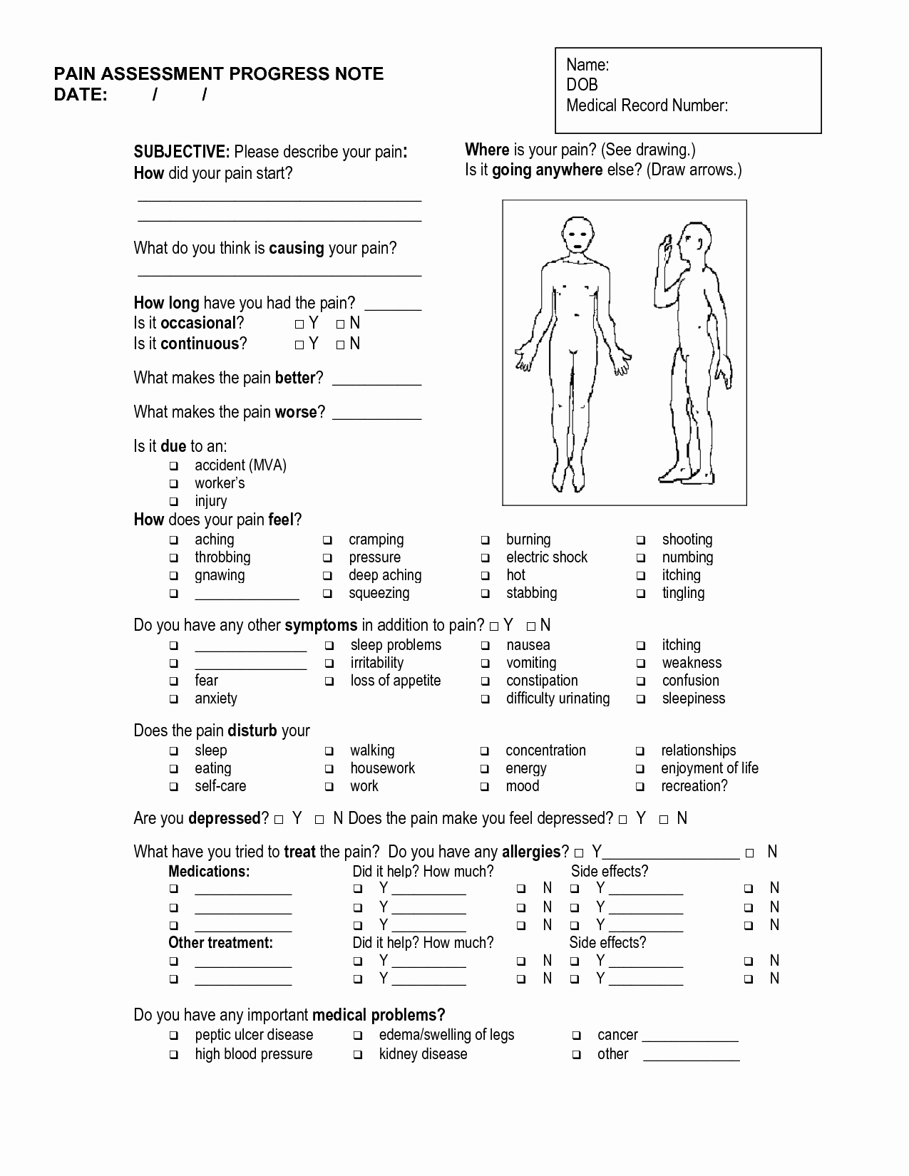 Chiropractic soap Note Example Fresh Massage soap Notes Template Massage