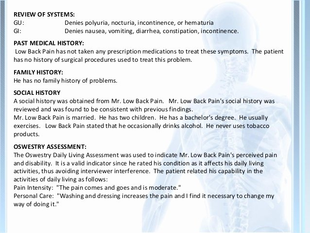 Chiropractic soap Note Example Lovely Fall 2012 Arkfeld Notes