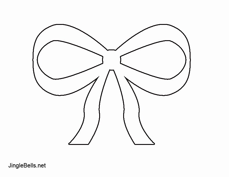 Christmas Bow Template Best Of Christmas Bow Templates – Halloween & Holidays Wizard