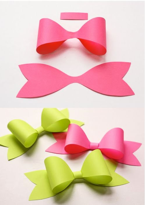 Christmas Bow Template New Best 25 Paper Bows Ideas On Pinterest