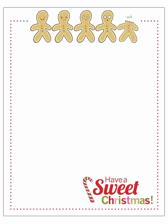 Christmas Letter Template Free Beautiful Best 25 Christmas Letter Template Ideas On Pinterest