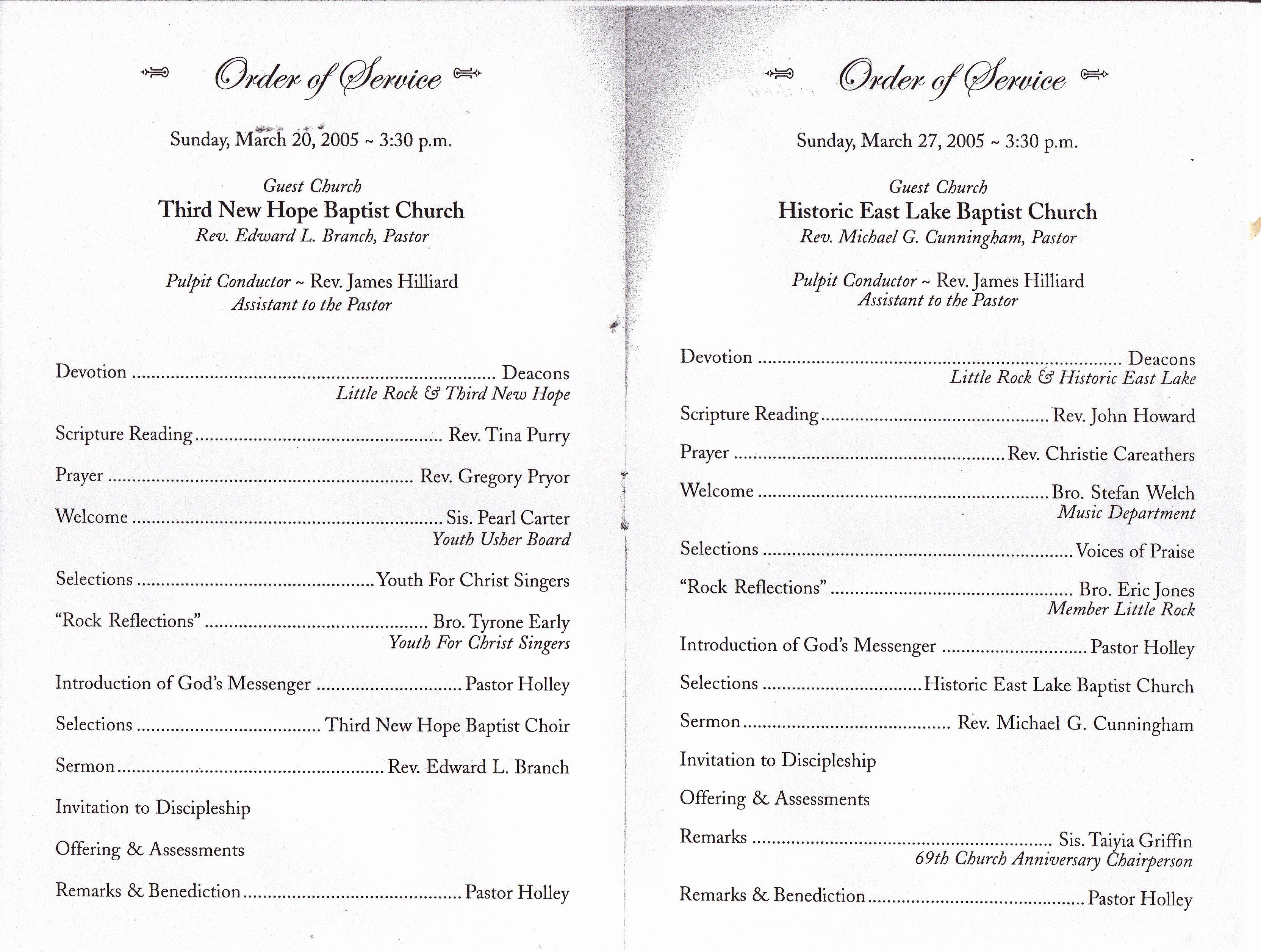 Church Banquet Program Best Of Best S Of Black Pastors Anniversary Programs Pastor