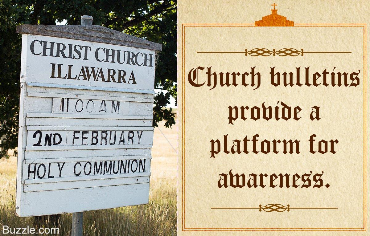 Church Bulletin Ideas Free Luxury these Church Bulletin Ideas Will Easily Catch Everyone S Eye