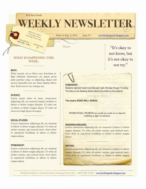 Church Bulletin Ideas Free New 1000 Images About Church Newsletter On Pinterest