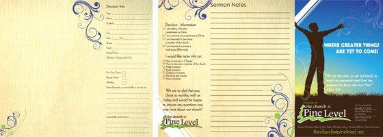 Church Bulletin Ideas Free New Custom Church Bulletin Design