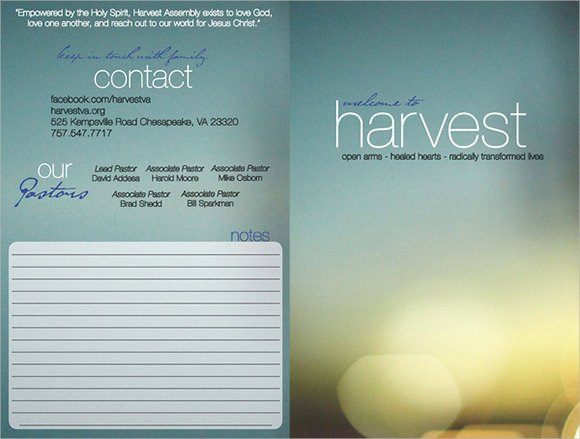 Church Bulletin Templates Free Beautiful 10 Amazing Sample Church Bulletin Templates to Download